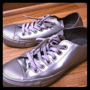 Converse Unisex Chuck Taylor All Star Low metallic